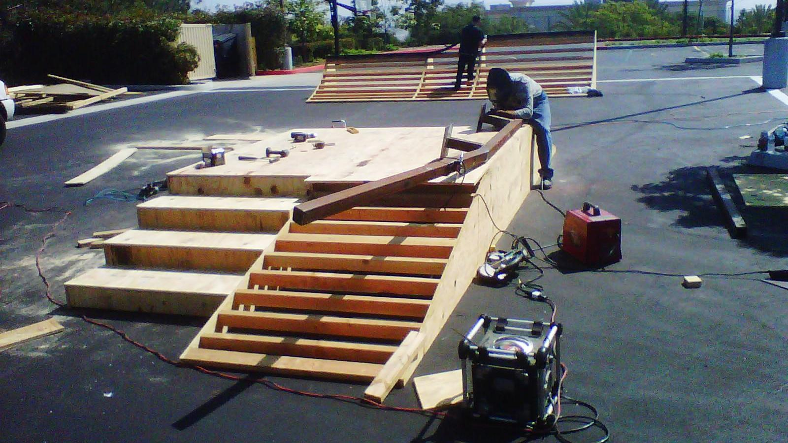Jim Bell Skateboard Ramps Custom Skateboard Ramps