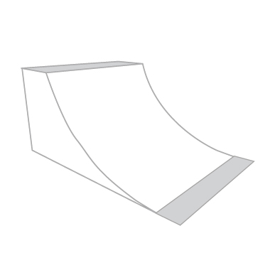 Jim Bell Skateboard Ramps - Custom Quarter Pipes