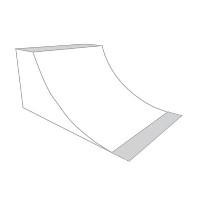 Jim Bell Skateboard Ramps - Custom Quarter Pipes