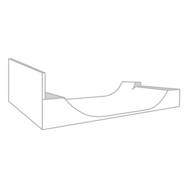Jim Bell Skateboard Ramps - Custom Half Pipes